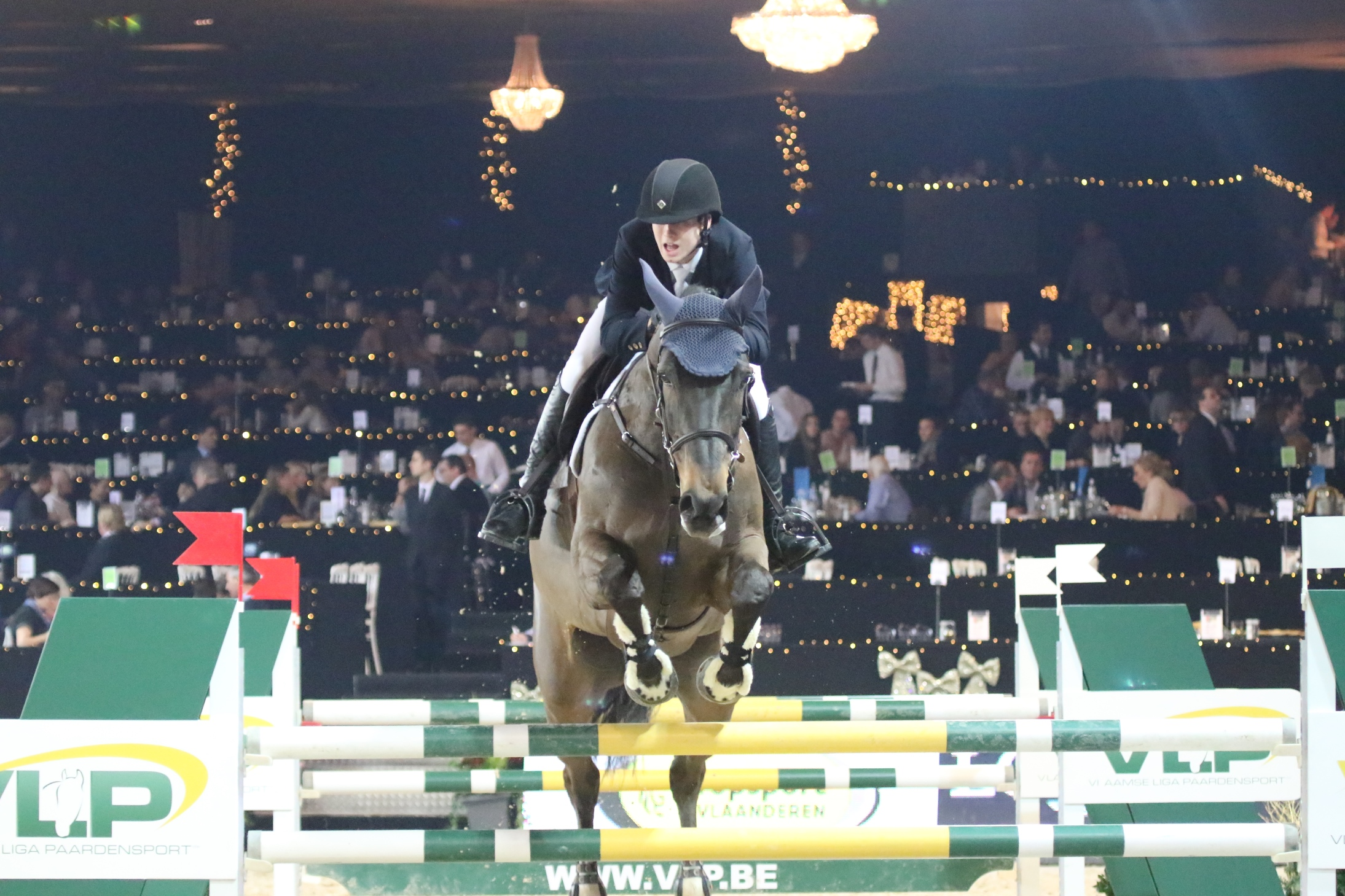 Horses and riders for the CSI5*w Mechelen