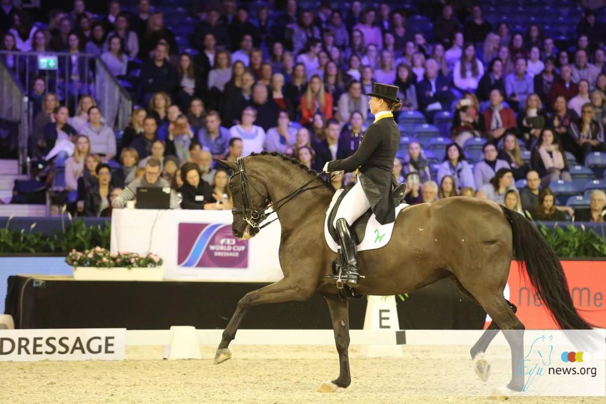 German dressage riders continue to dominate FEI ranking