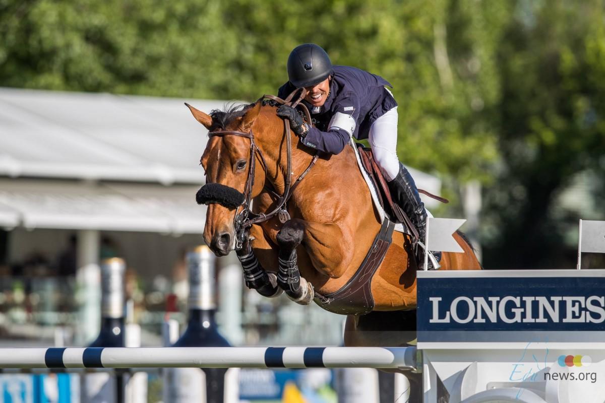 Kent Farrington en Gazelle ter Elzen Elite ruiter en paard in Amerika