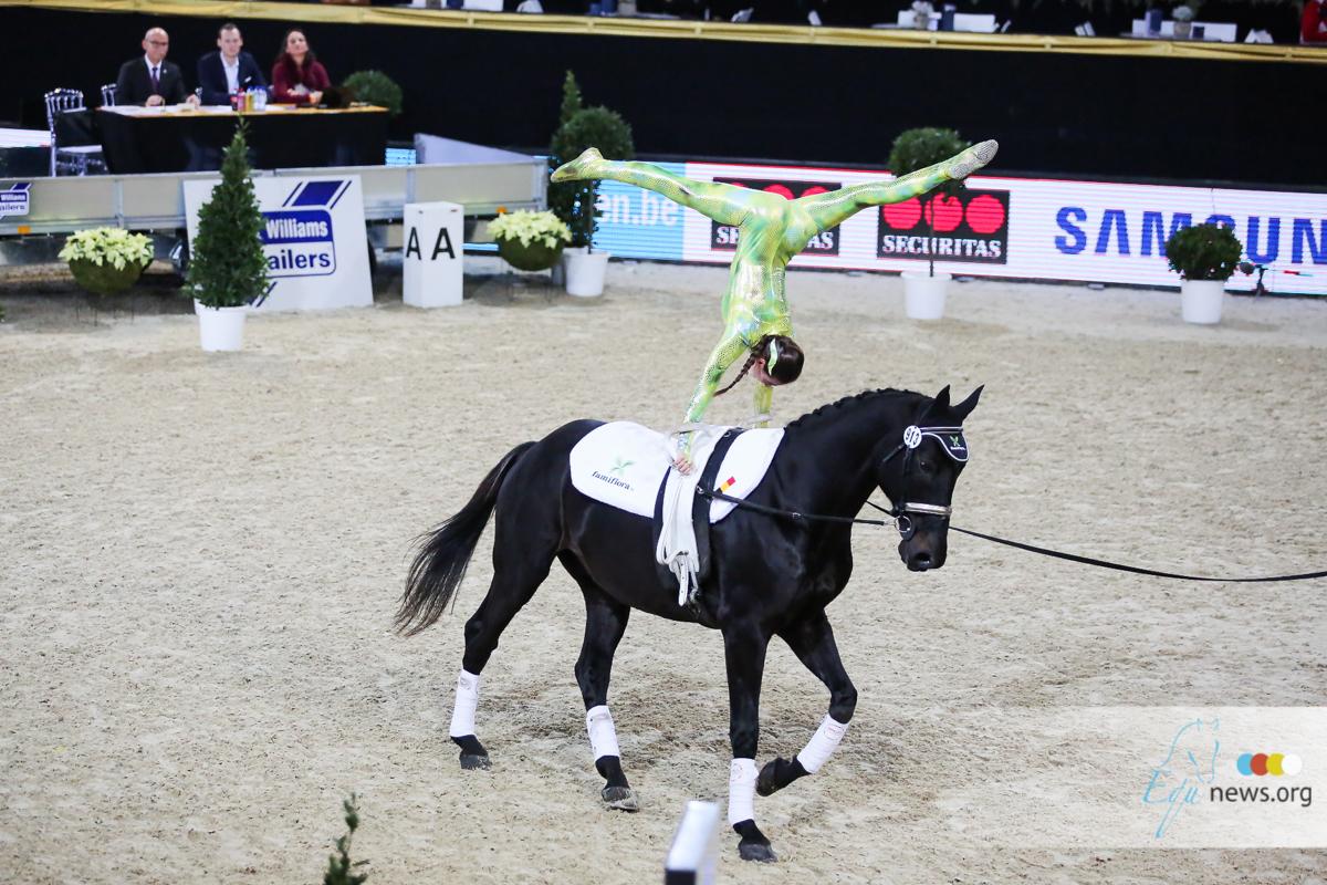 Lauren Vanlerberghe verliest kampioenenpaard aan koliek