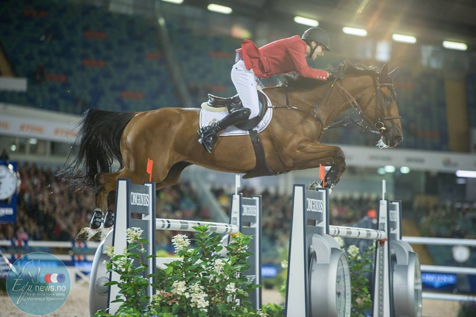 """Pieter Devos: """"Espoir is the proof that anything is possible if you understand your horse and believe in him""""."""
