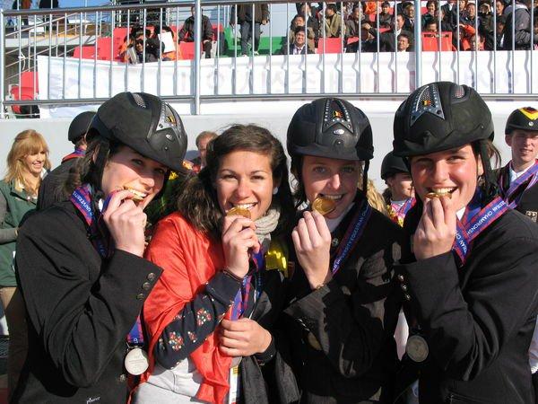 Belgische Studenten grijpen gouden medaille op Ierse Nations Cup wedstrijd.