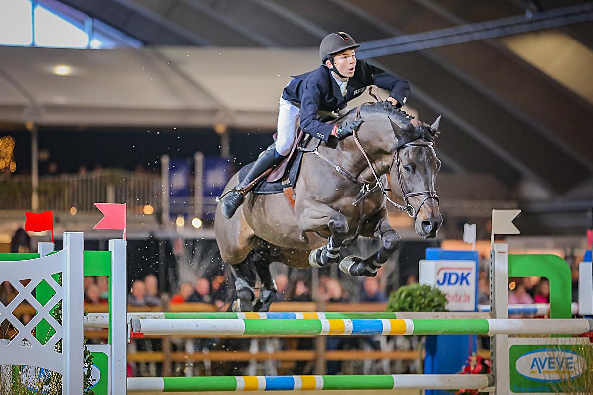 Thibeau Spits springt opnieuw op het podium in Vragender