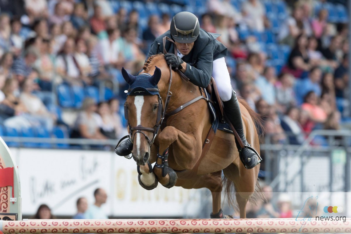 Gregory Wathelet jumps to the victory in CSI4* Vilamoura