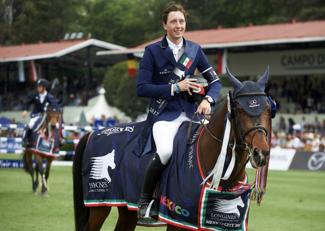 Martin Fuchs and Chaplin win again in Cascais, now it's the GCT Grand Prix