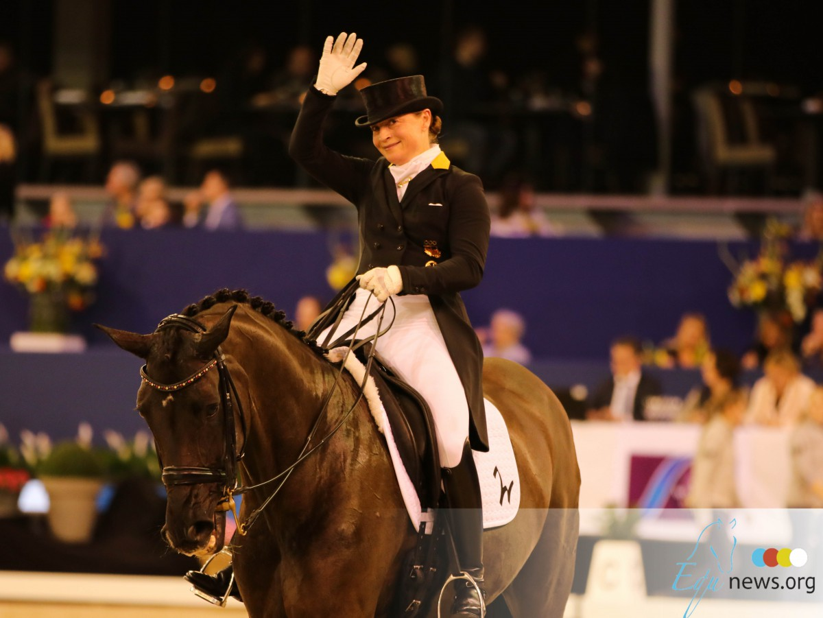 Isabell Werth collects 90.000 euro for riding schools affected by corona