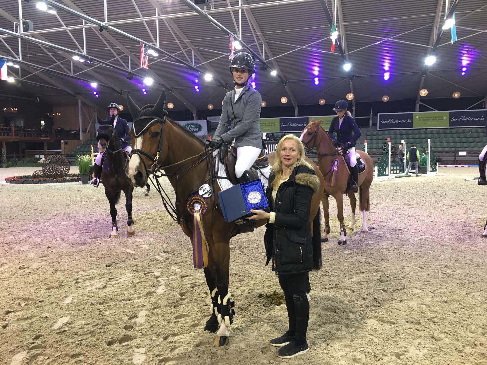 Nicole Mestrom en Michiel De Ruijeter scoren in Kronenberg - Equnews Nederland