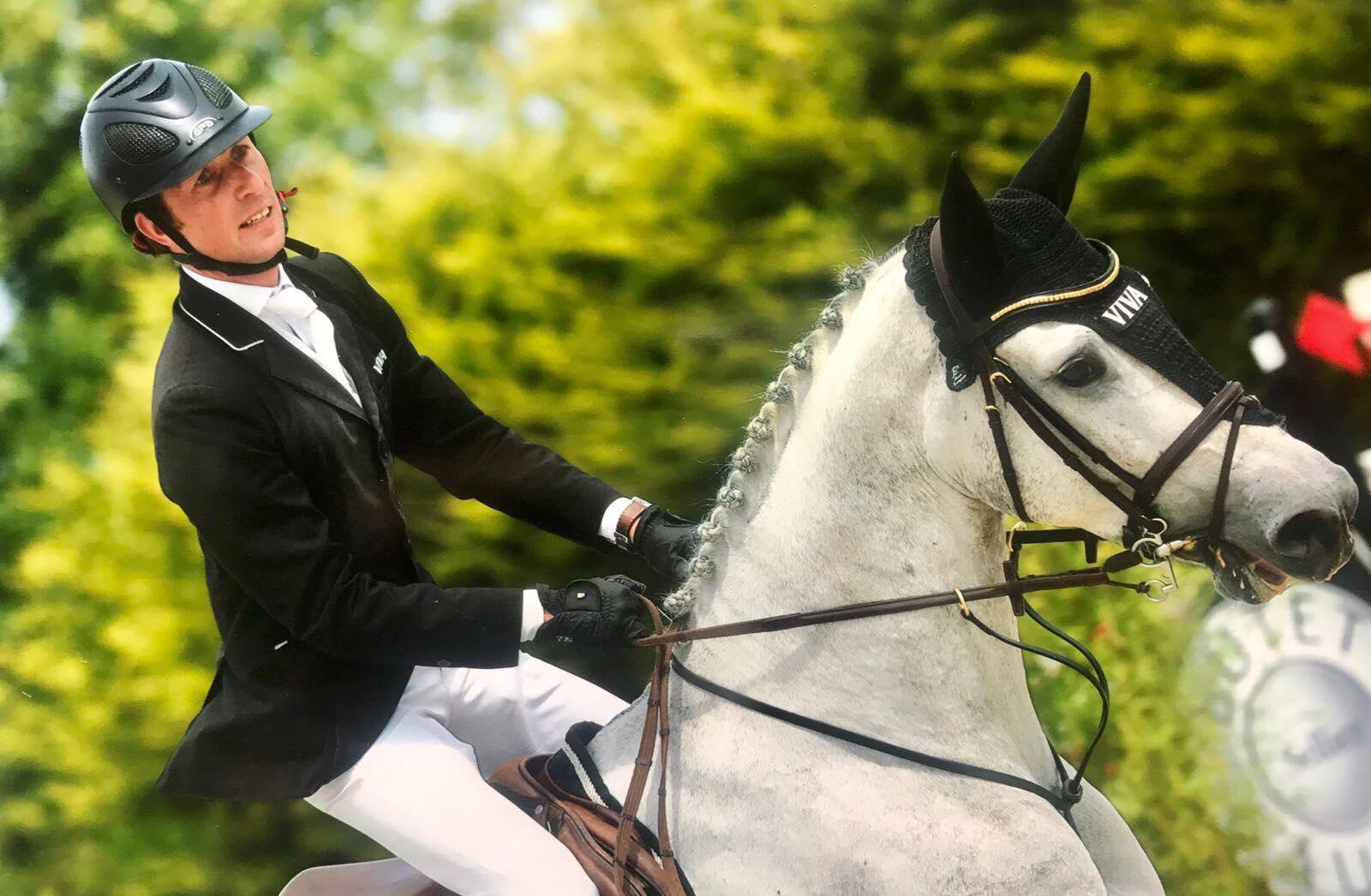 Top vijf voor Perry Geryl in CSI1* voor 5- en 6-jarige paarden