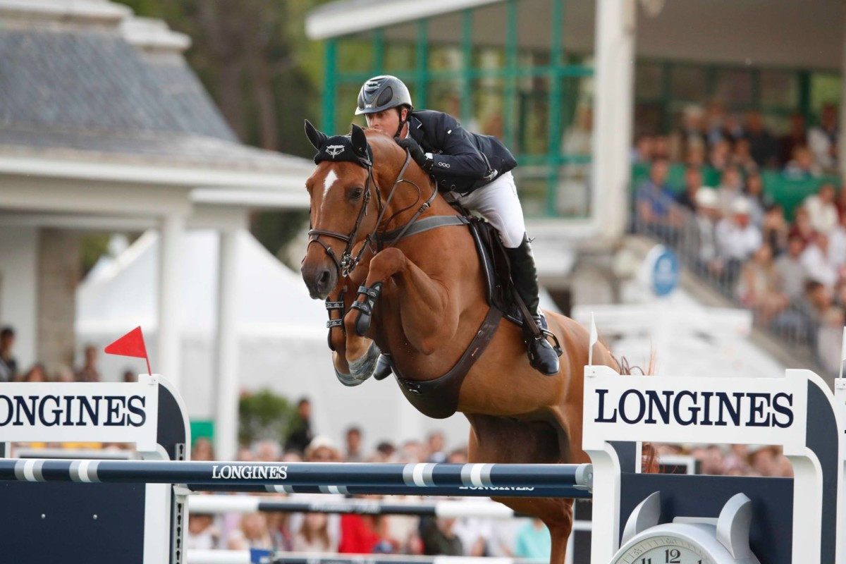 Ben Maher and Explosion W jump to victory in Aachen