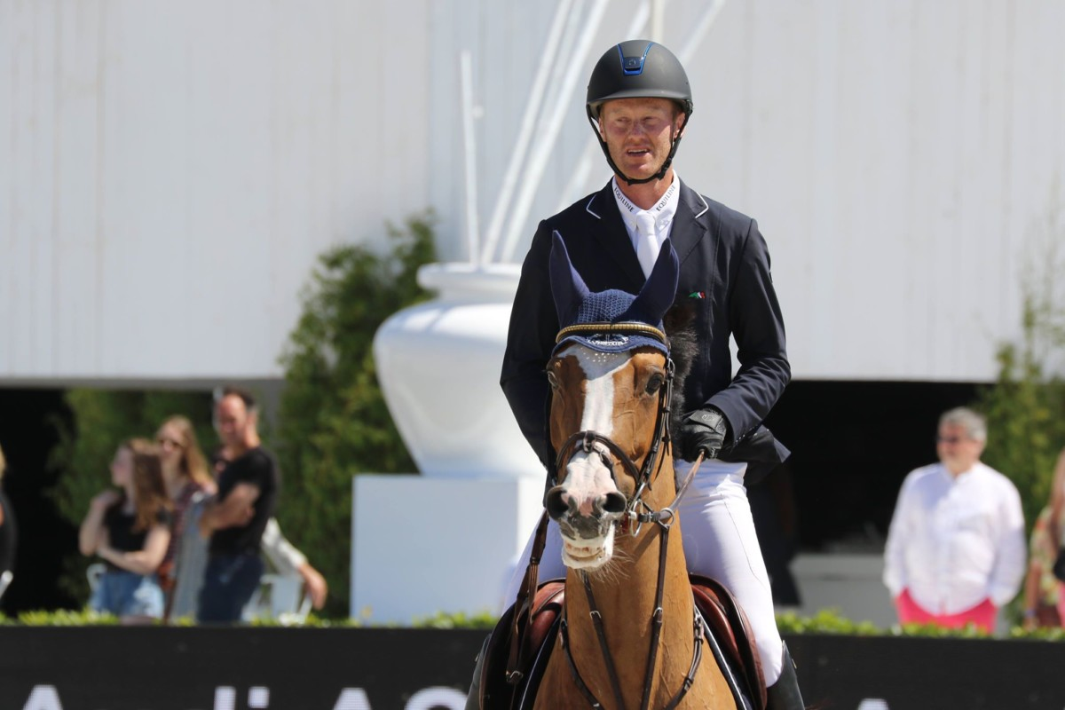 Niels Bruynseels houdt Belgische eer hoog in CSI4* Grand Prix Hubside