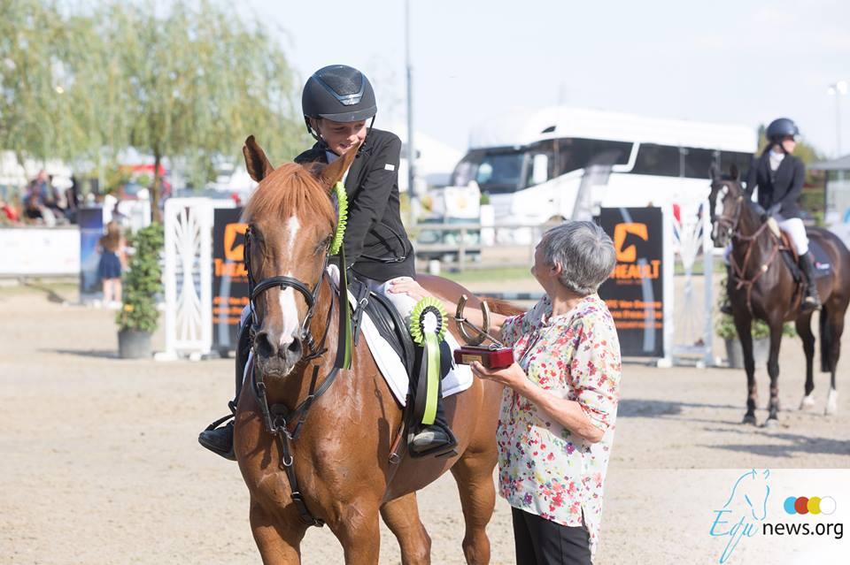 Seppe Wouters scoort hattrick in hoogste ponyrubriek Emmers Cup