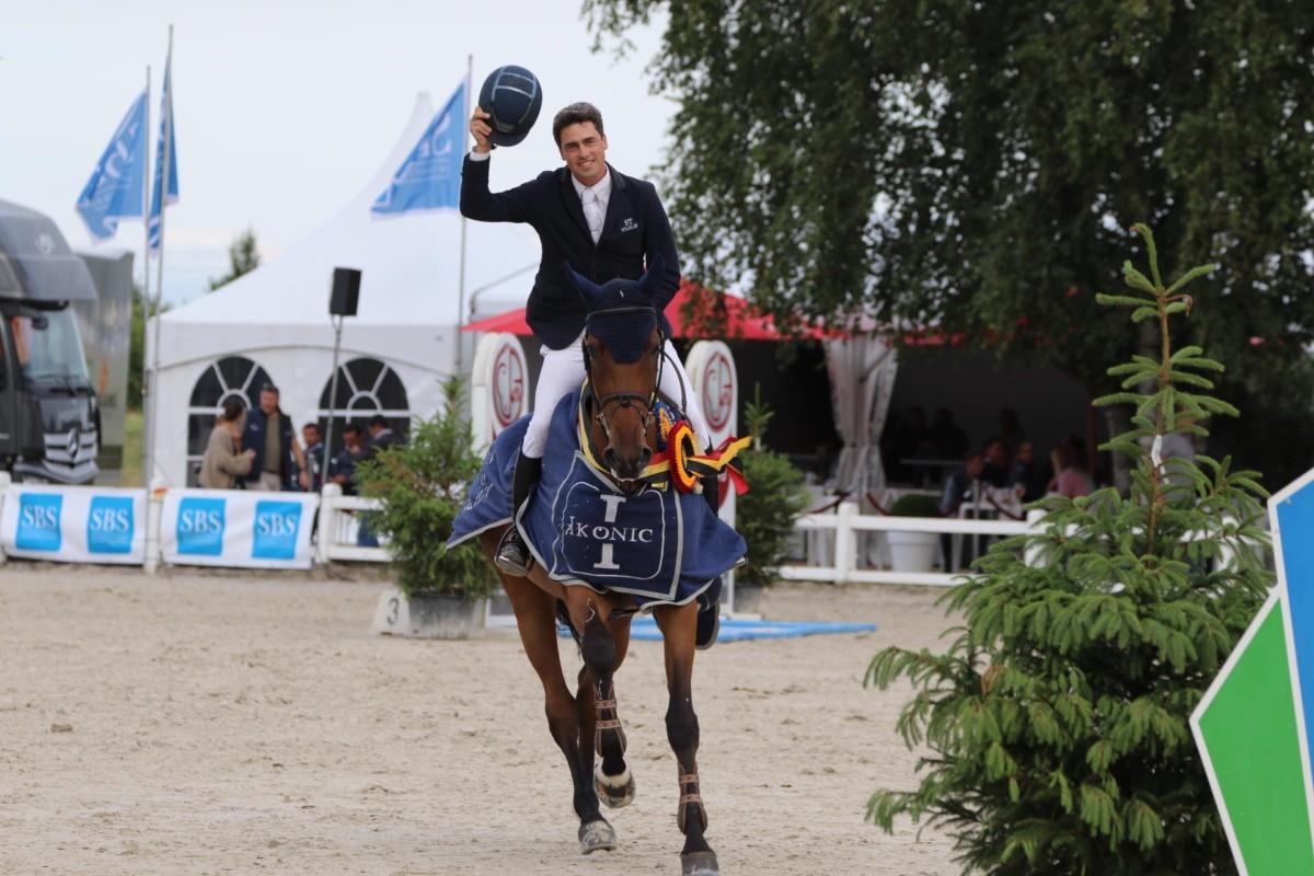 Maxime Harmegnies remporte la série pour les 7 ans au CES de Valence