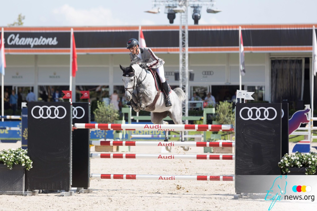 Olivier Philippaerts' Freesby de Vy moves to the States