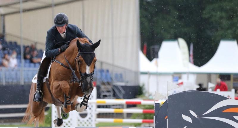 Pieter Clemens laat van zich horen in Dublin Horse Show Longines Stakes