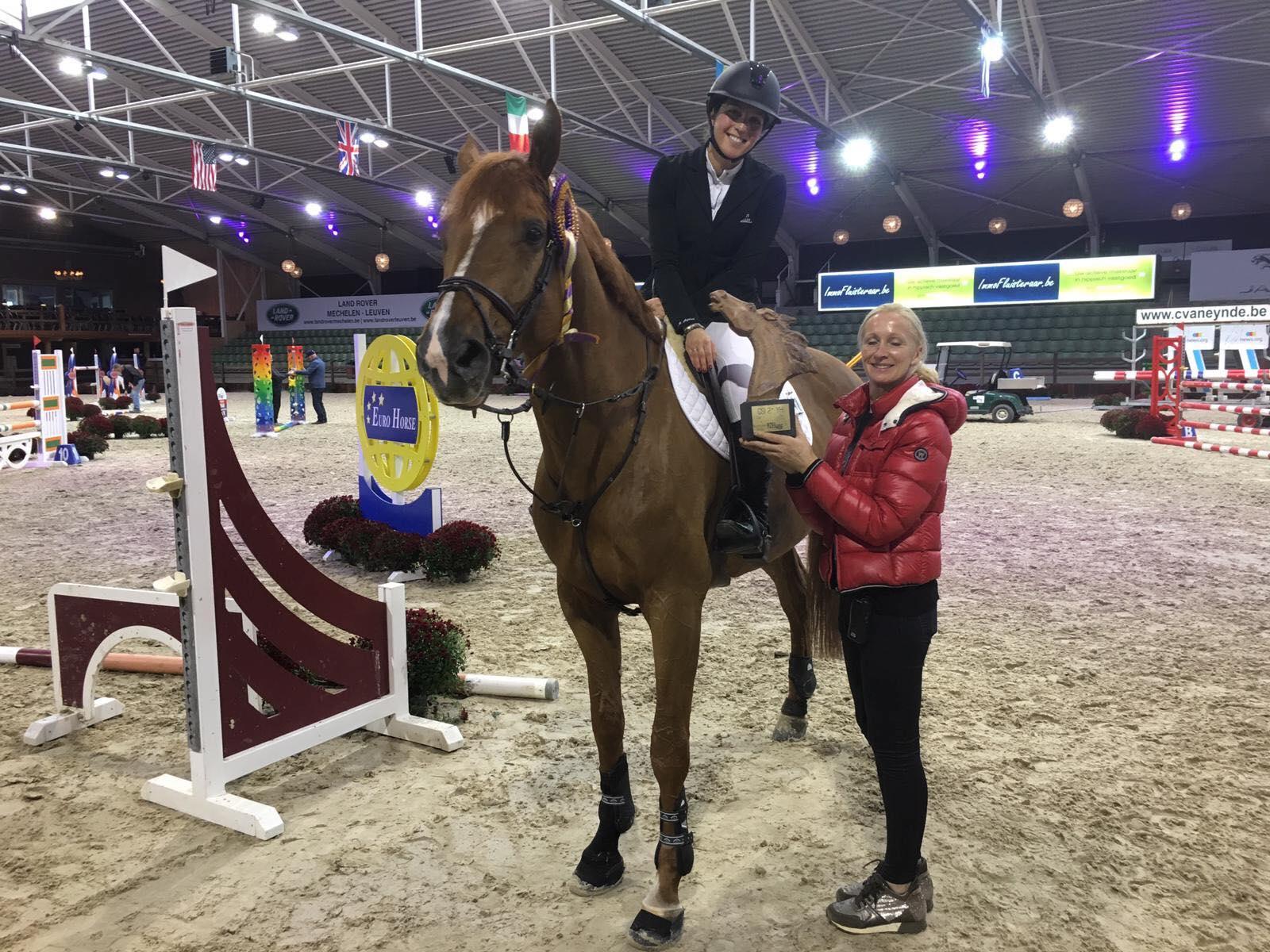 Evelyne Putters houdt Belgische eer hoog in Opglabbeek - equnews.be