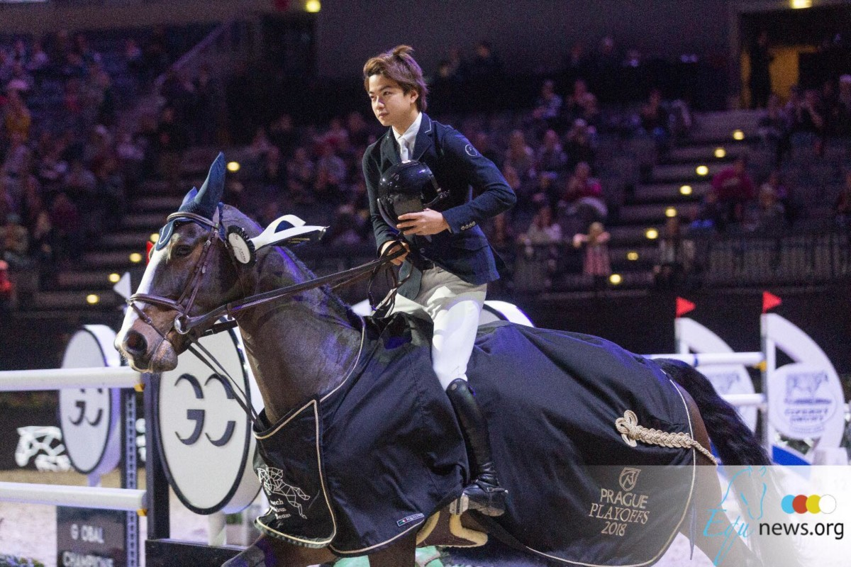 Victory for Mike Kaway and Star in St Tropez CSI5*