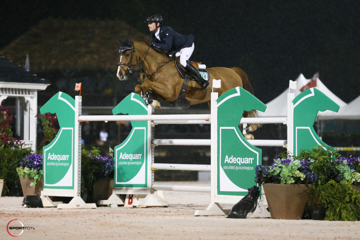 Darragh Kenny lord of the jump-off in Longines Christmas Cracker London