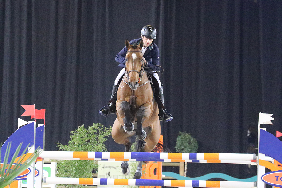 Victory for Denis Lynch in CSI5* in Basel