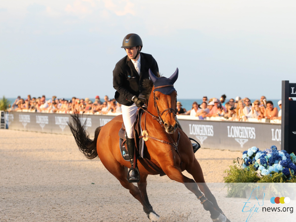 Pieter Devos knap tweede in Longines Global Champions Tour Ranking