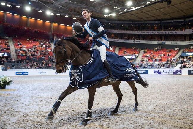 Unbelievable jump-off in FEI World Cup leg of Bordeaux: Guerdat wins, Deusser & Bruynseels follow