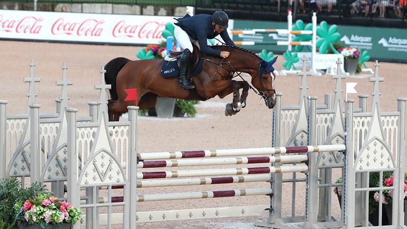 Samuel Parot and Bahira S Claim $25,000 Main Street Insurance Grand Prix Win