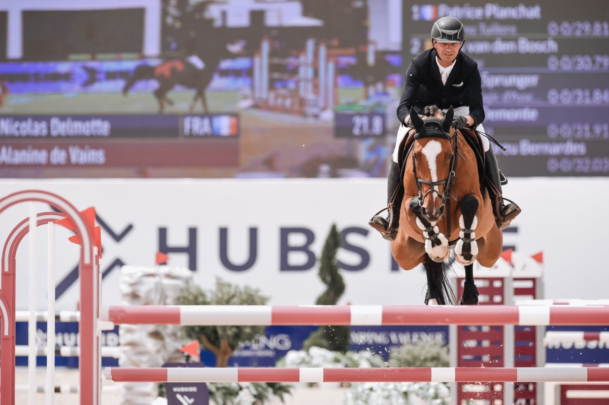 Nicolas Delmotte wins CSI4* Grand Prix of Hubside