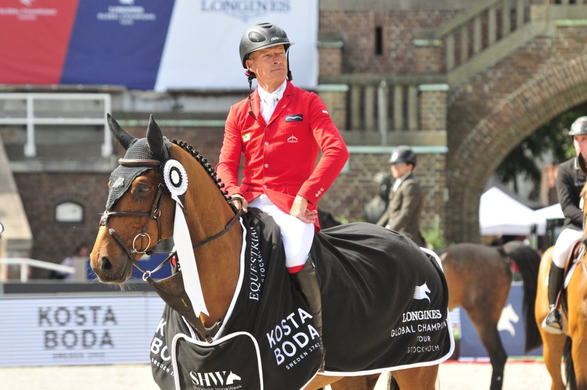 The winners of today's top classes in Saint Lô, Spangenberg and Sentower Park