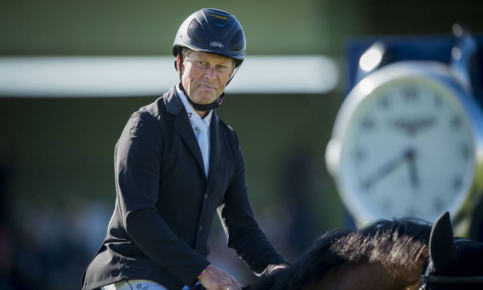 Rolf-Göran Bentsson's former Lennet to the USA as Hunter horse