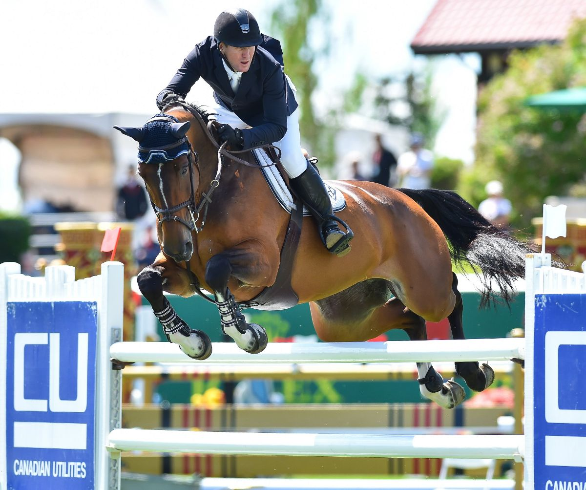 Strong Spruce Meadows Summer Series start for McLain Ward