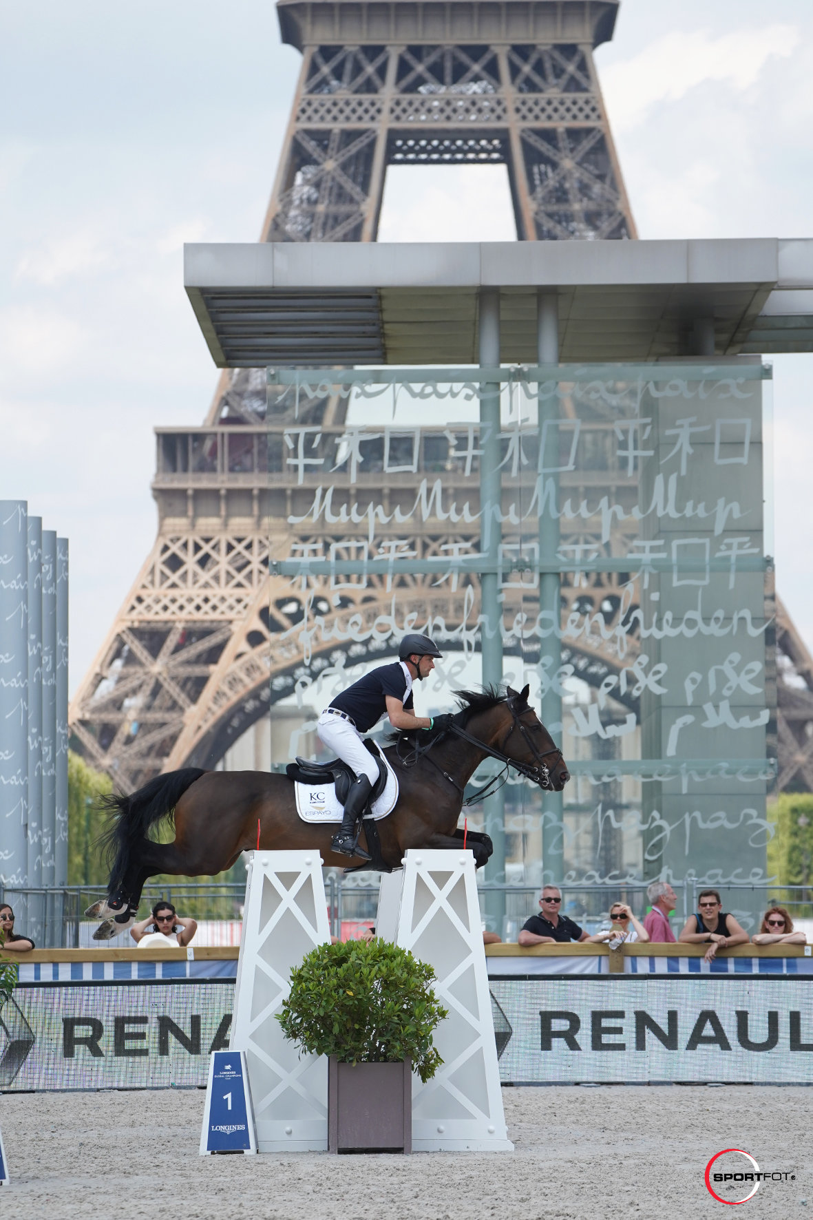 Belgian victory for Karel Cox in Prix des 130 and de la Tour Eiffel