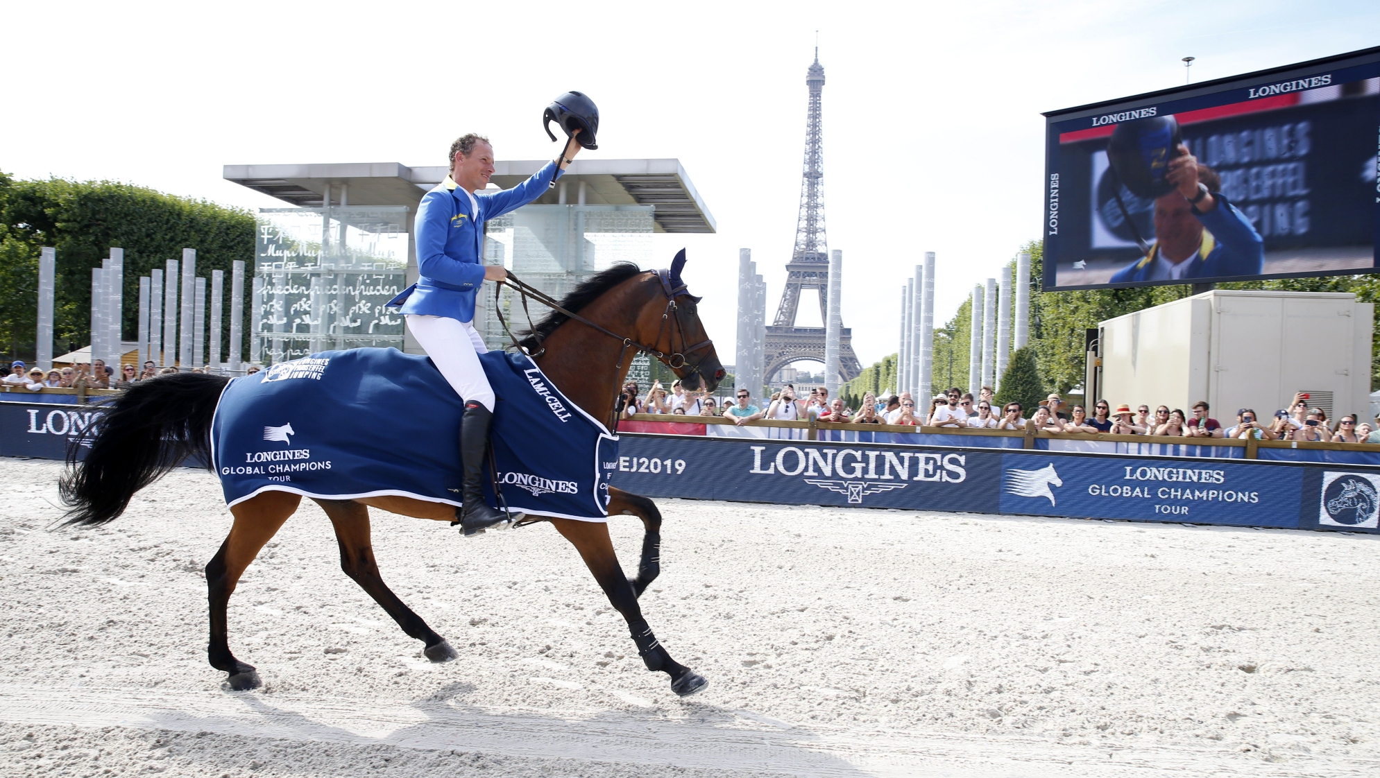 Ahlmann Does The Double With Longines Eiffel Challenge Win