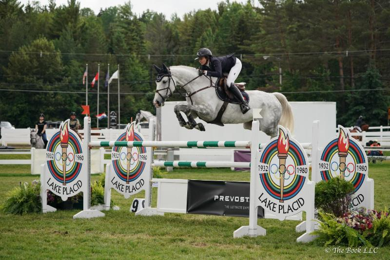 Catherine Tyree Wins $100,000 Prevost Richard M. Feldman Grand Prix at Lake Placid Horse Shows