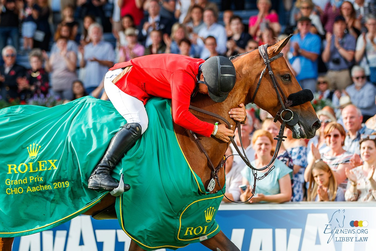 Brilliant victory for Kent Farrington in Rolex Grand Prix Aachen