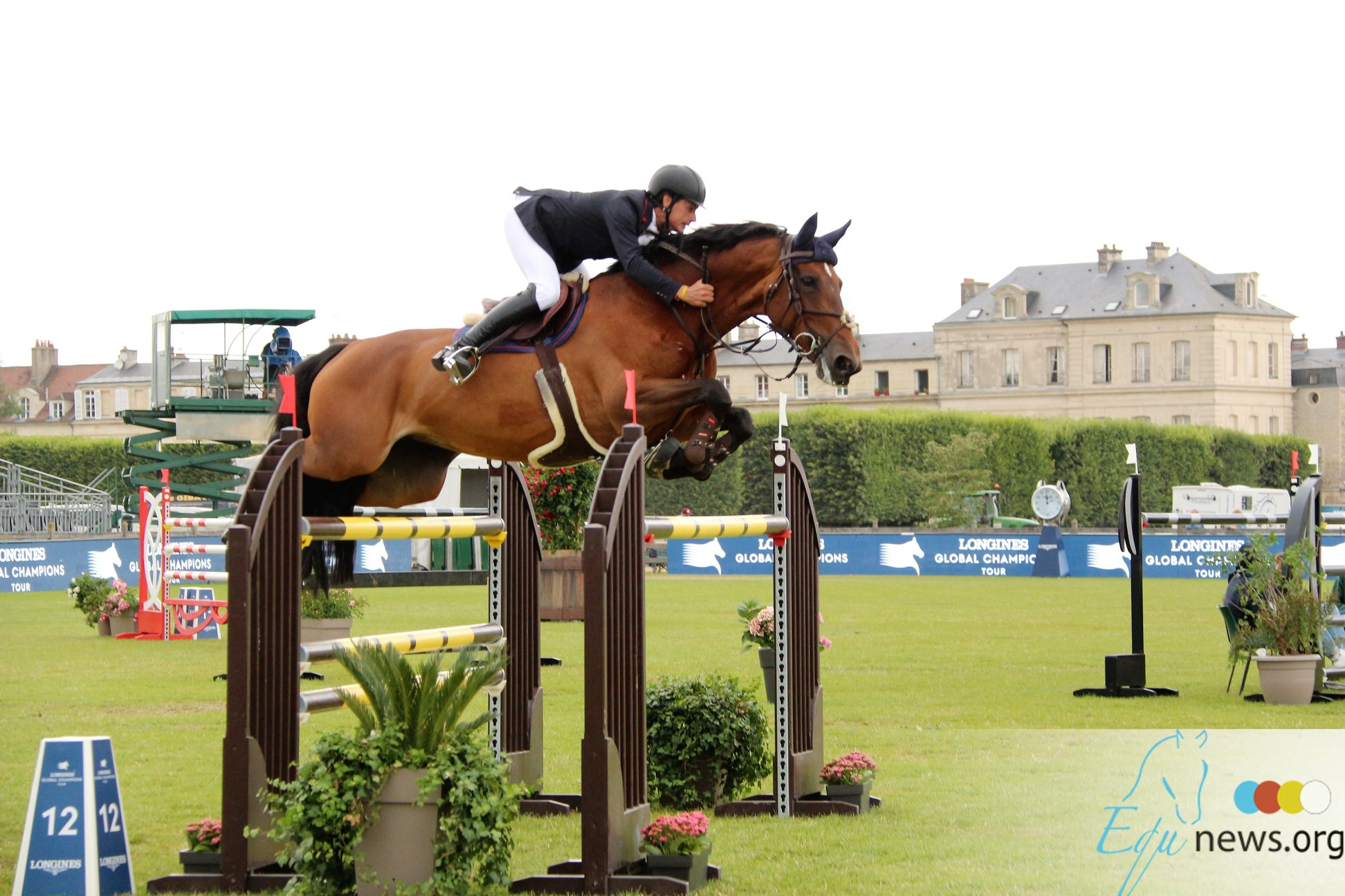Victory for Leopold van Asten in LR class Chantilly