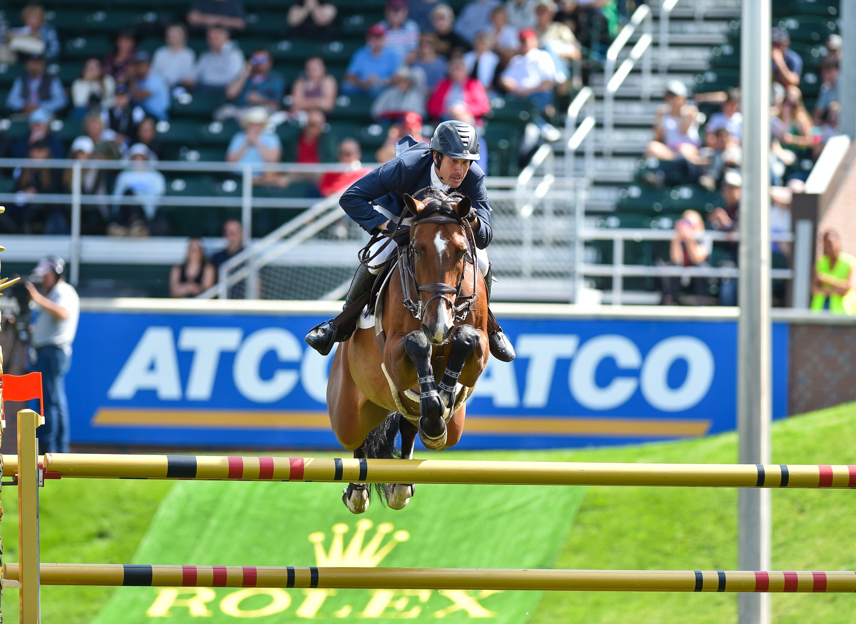 FEI examining Show Jumper Andrew Kocher's Conduct at Spruce Meadows