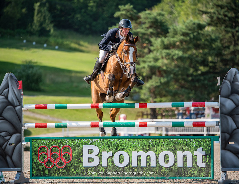 Andrew Kocher and Cosmona first in the Cofina Modified Grand Prix at International Bromont