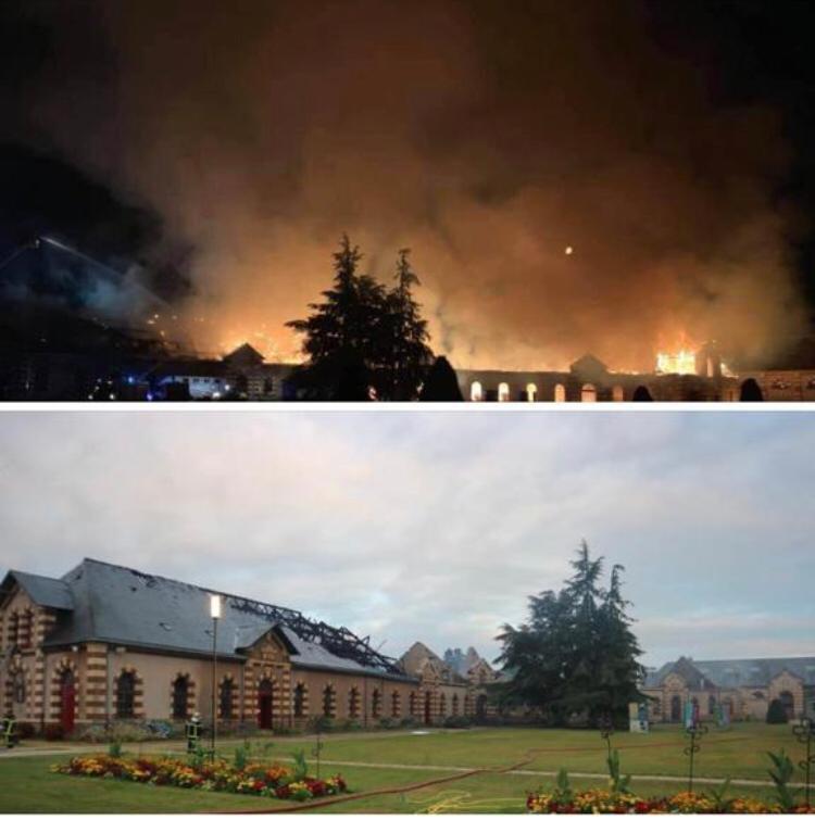Fire destroys part of Haras de St Lo