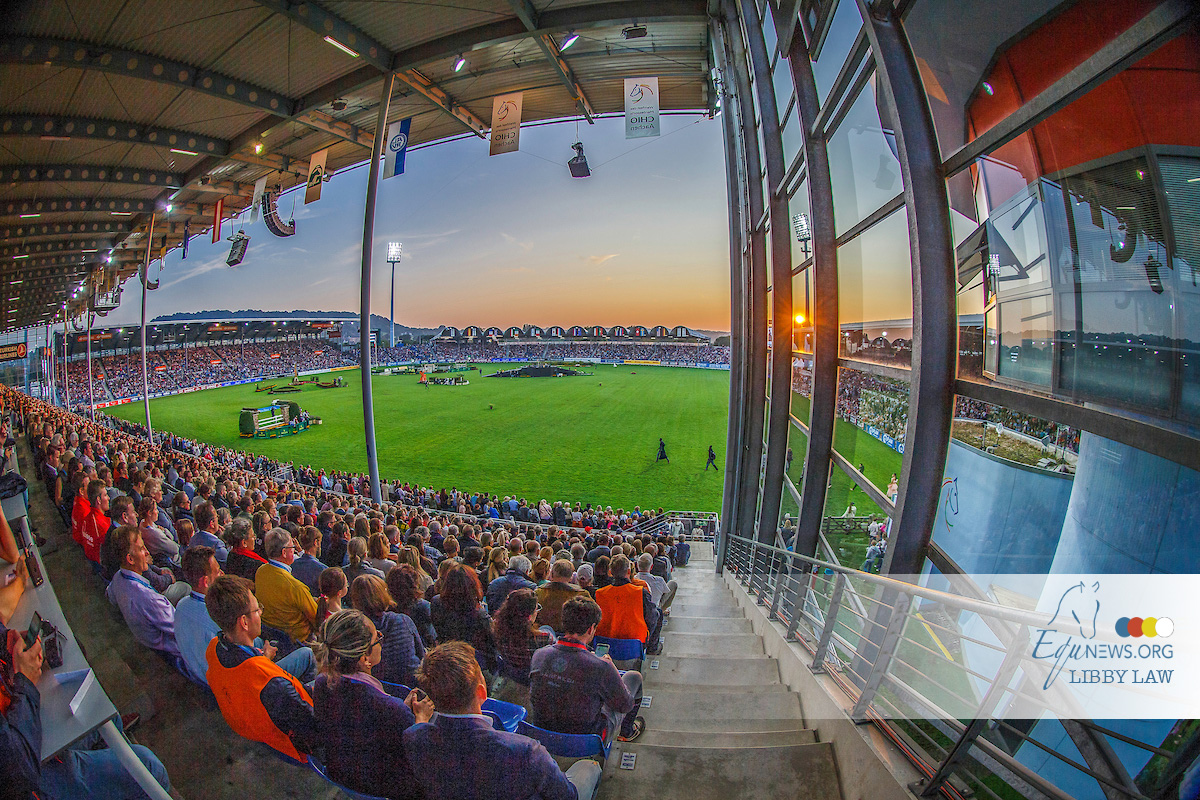 Dutch show jumpers kick-off Aachen's Nations Cup