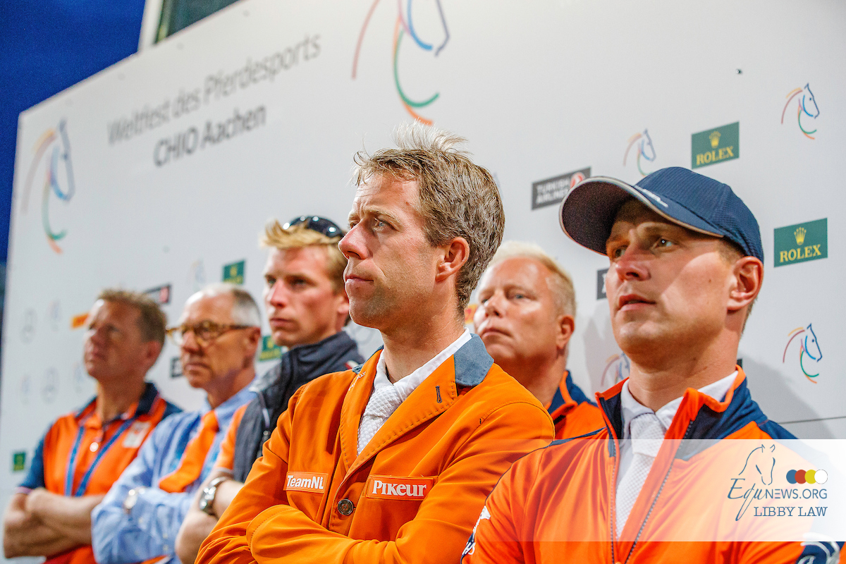 Rob Ehrens announces his riders for the European Championships in Rotterdam