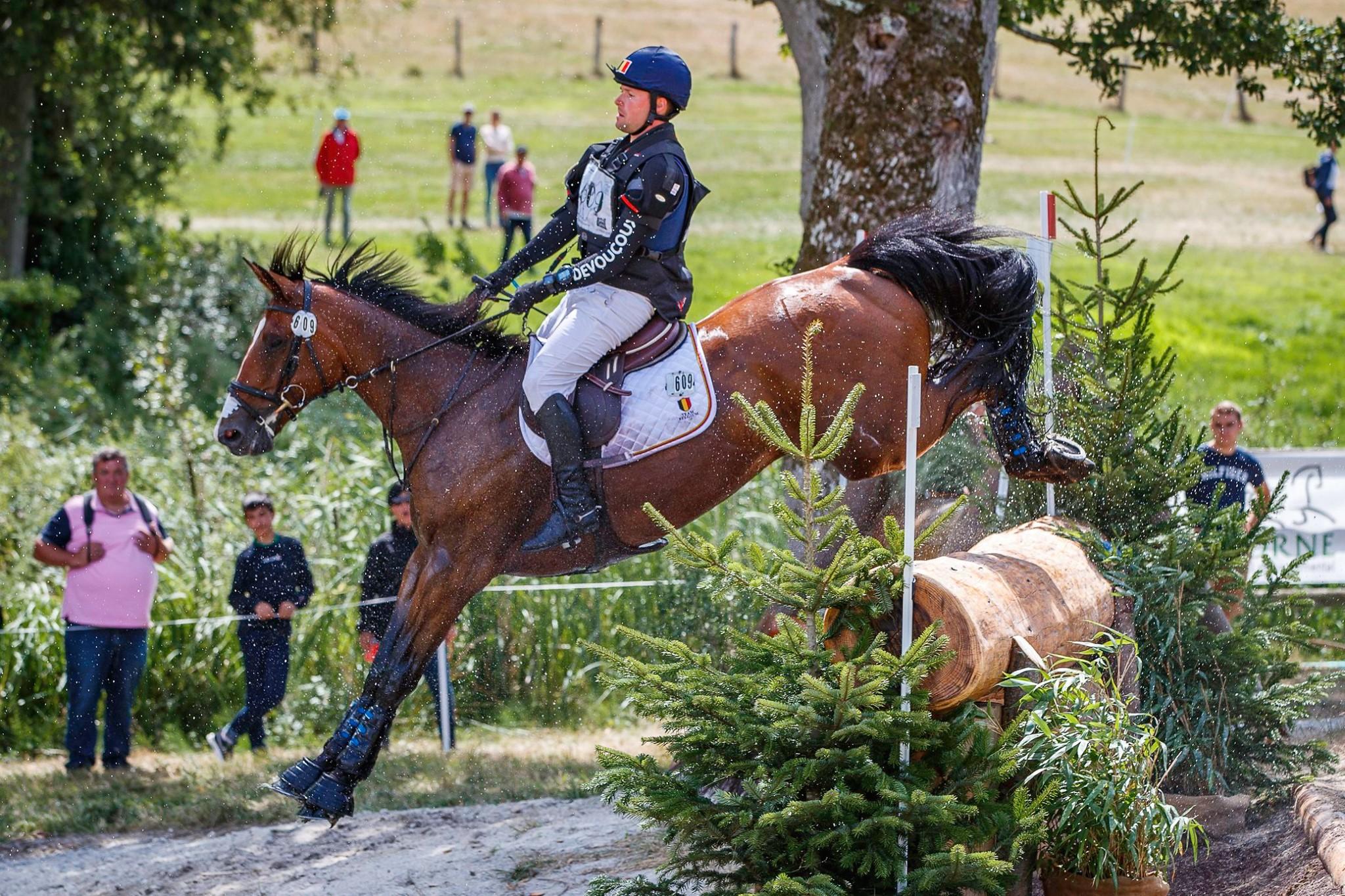 Belgische eventers knap derde in Landenprijs Le Pin Au Haras