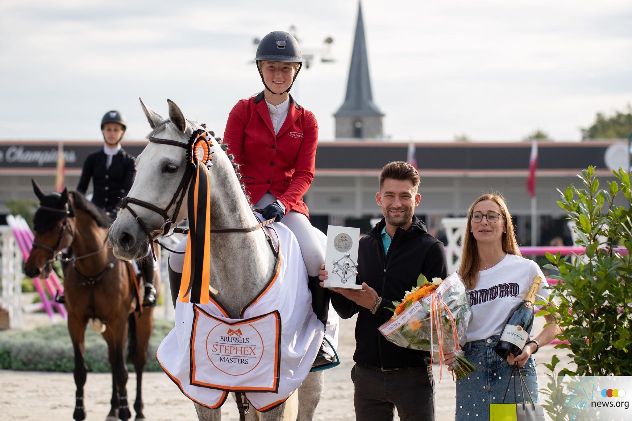 Anke de Breucker au sommet , Jimmy Vandeven prend la troisième place à Bruxelles