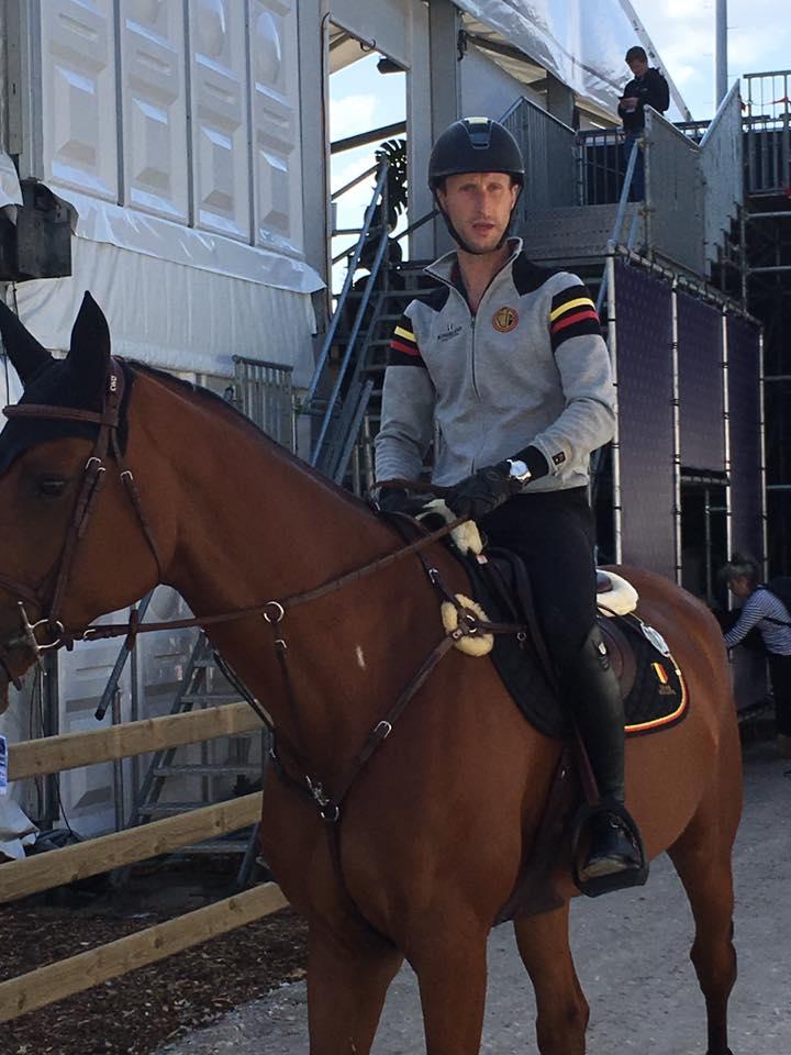 Pieter Devos met Claire Z eerste Belg in de ring op EK Rotterdam