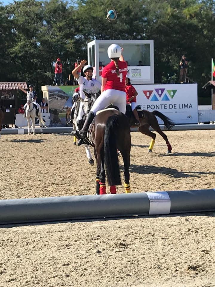 Belgische Vrouwenploeg neemt leiding op EK Horseball