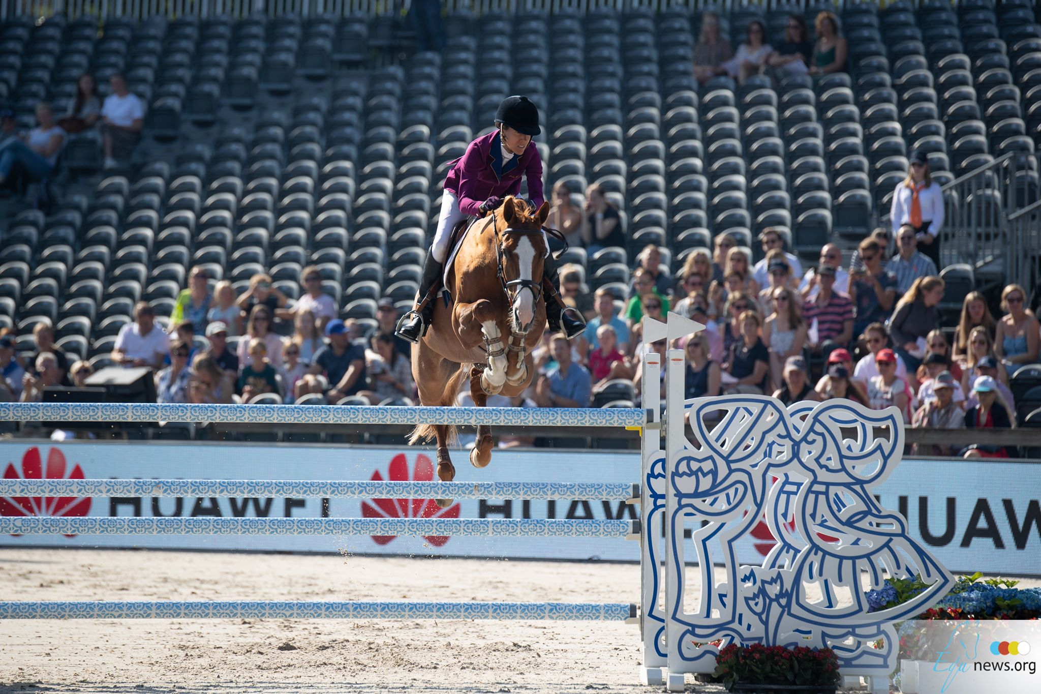 Luciana Diniz and Fit For Fun jump to glory in Rotterdam