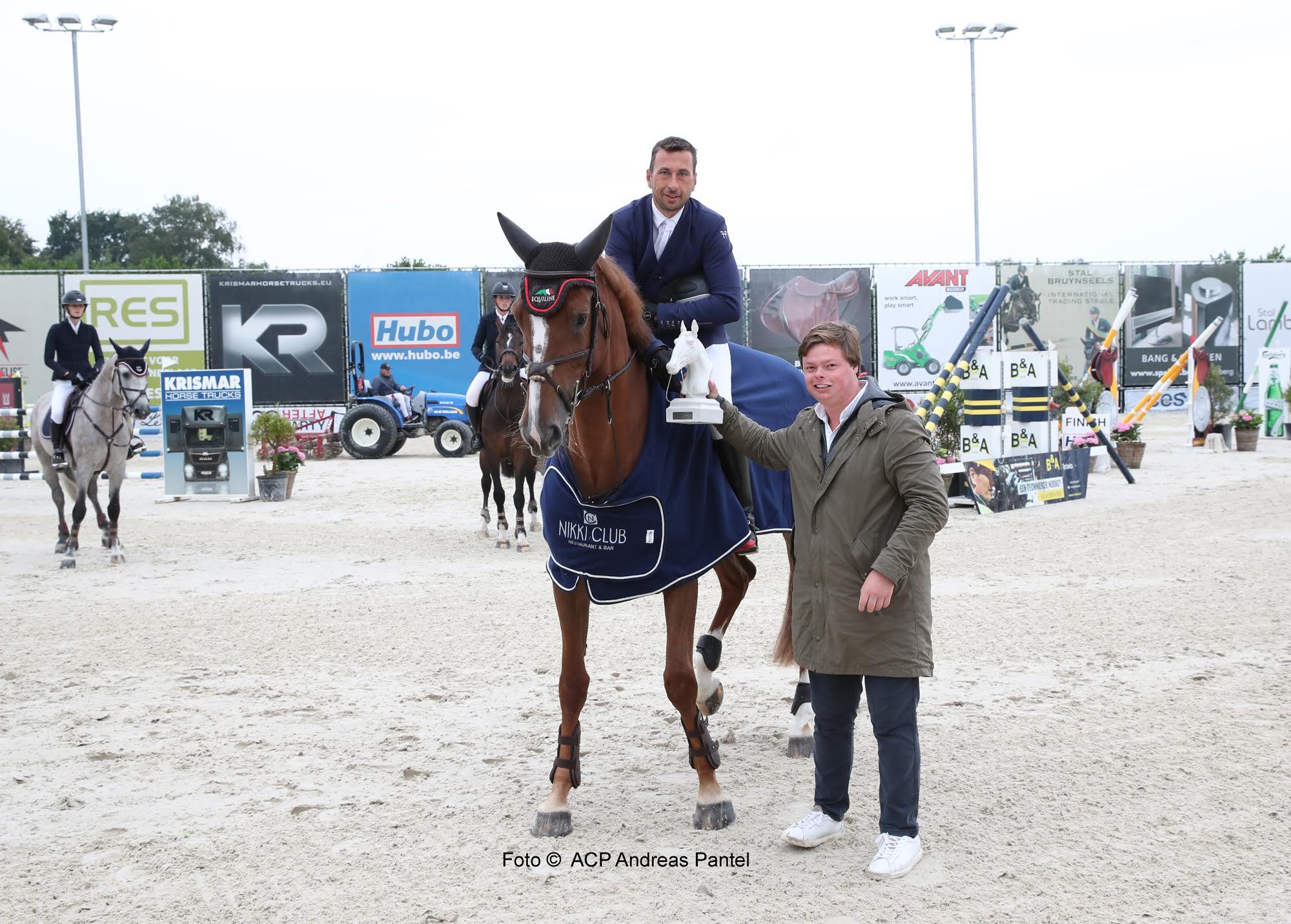 Gilles Dunon grijpt meteen de winst in Bonheiden