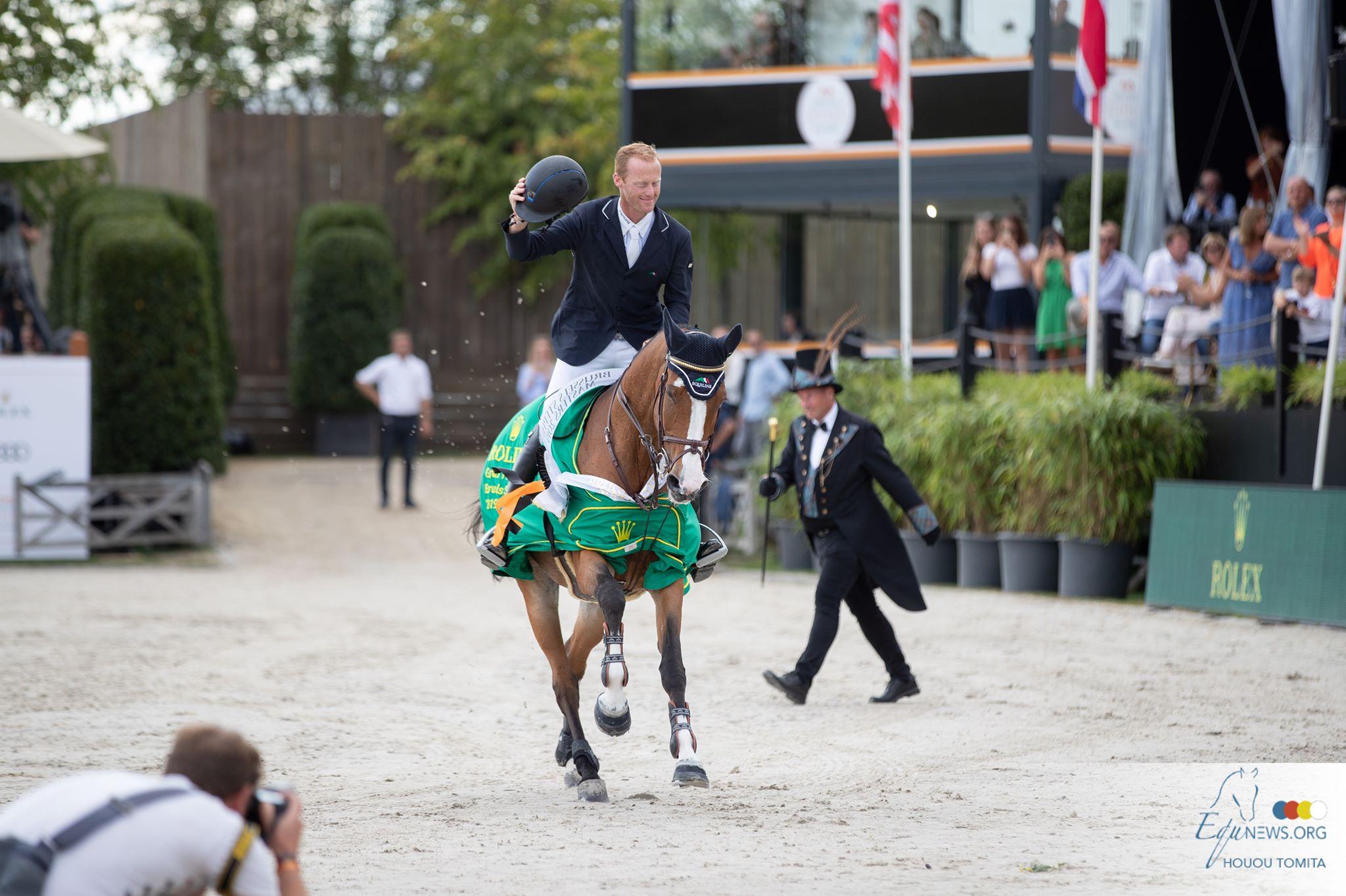 Niels Bruynseels en Gancia de Muze winnen Rolex Grand Prix Brussel
