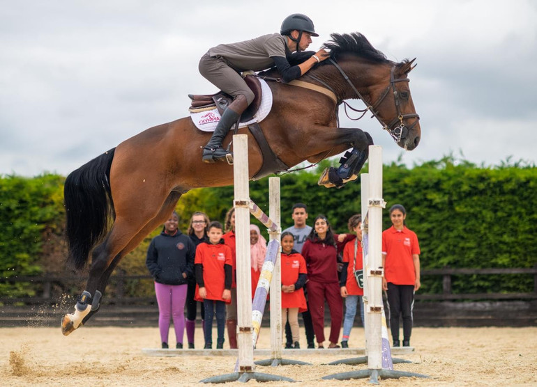 Olympia and Tim Stockdale Foundation debut Olympia Riding Academy to increase accessibility within equestrian