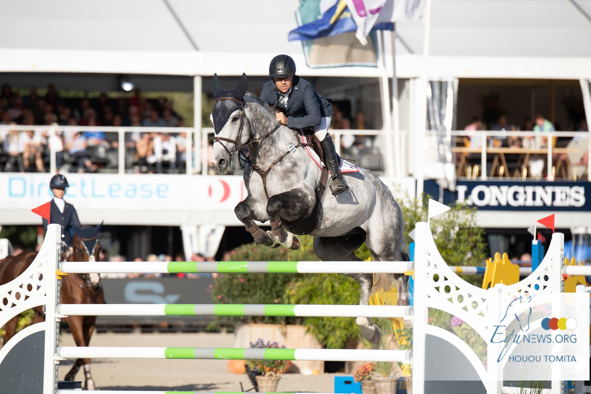 Rob Heiligers and Cassius Clay VDV Z win the Sires of the World Grand Prix of Zangersheide