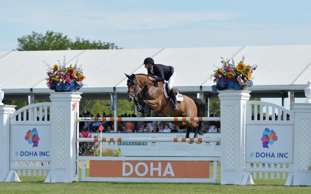 Mario Deslauriers Captures the  $300,000 DOHA.INC Grand Prix CSI4* at the Hampton Classic  Horse Show