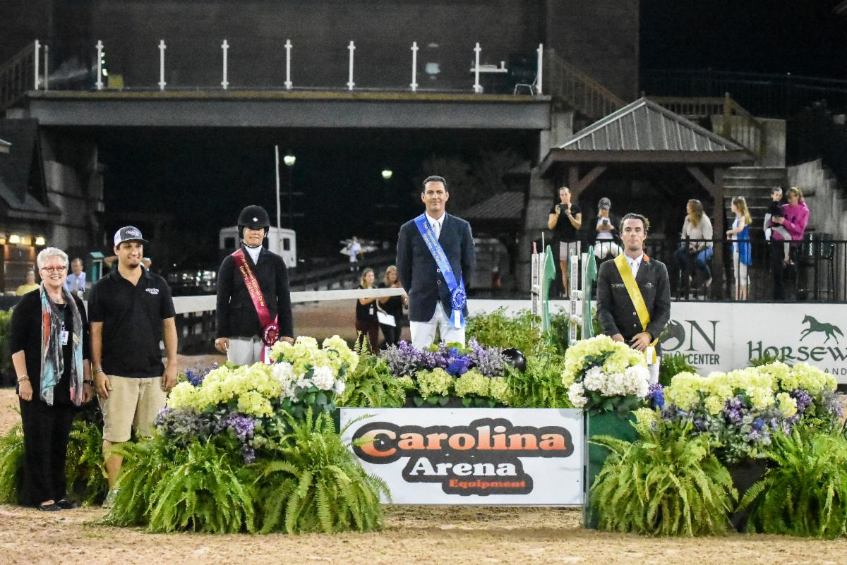 Santiago Lambre and Diathago Deliver $25,000 Carolina Arena Equipment Grand Prix Victory at TIEC